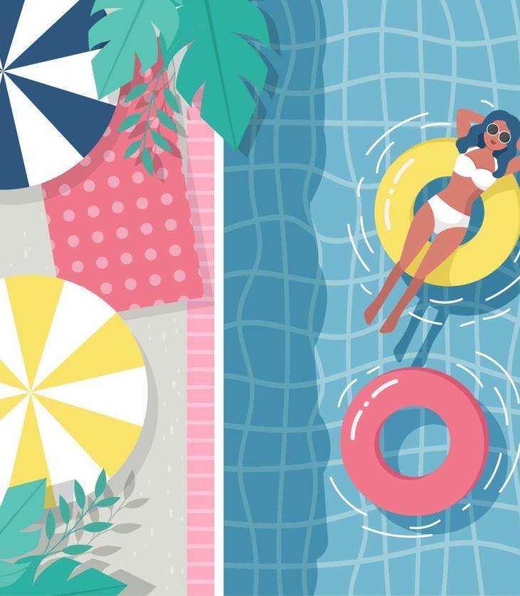 Pool Vectors by Vecteezy