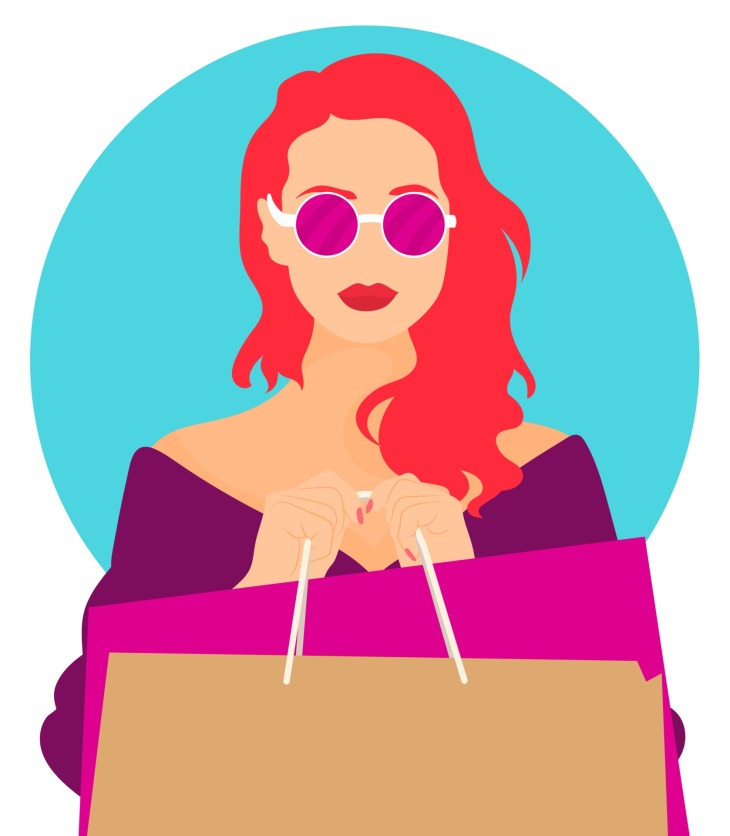 Fashion Shopping Vectors by Vecteezy